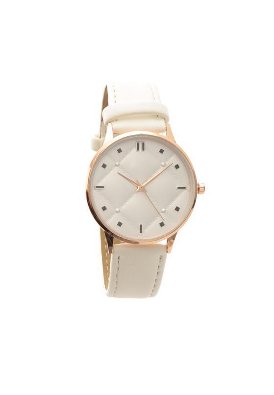 Biały Zegarek Look As If
