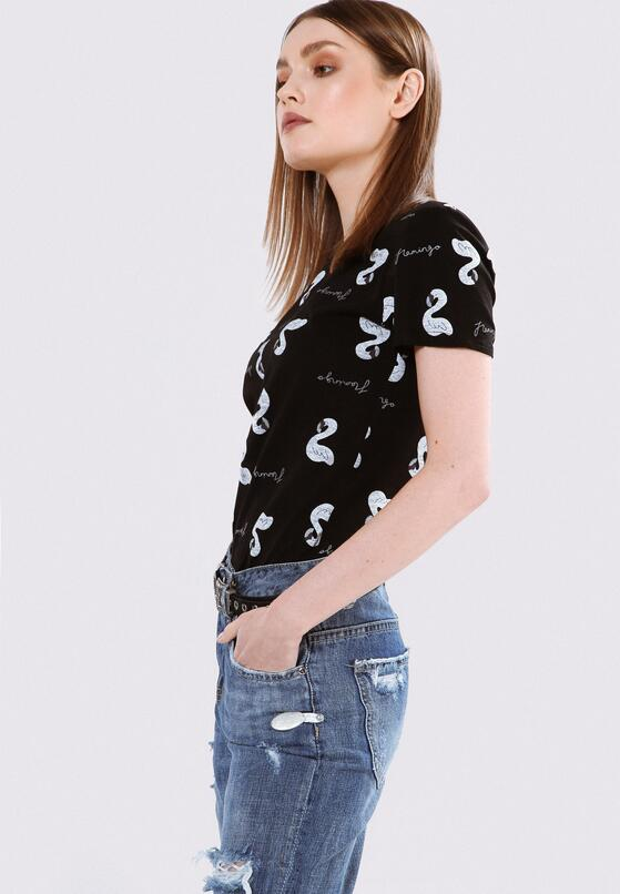 Czarny T-shirt Midway