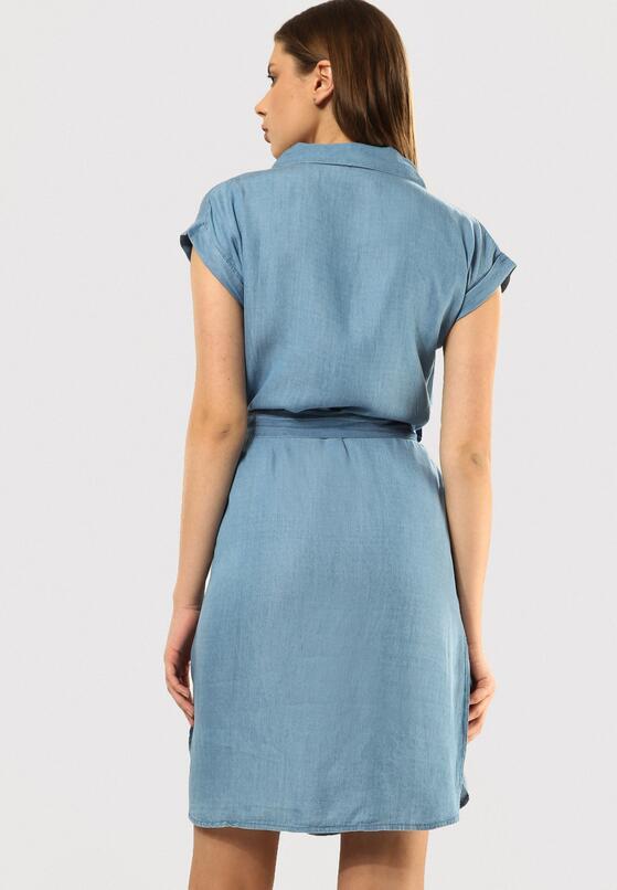 Niebieska Sukienka Souped Up