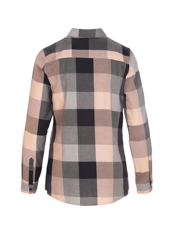 Granatowo-Różowa Koszula Apace