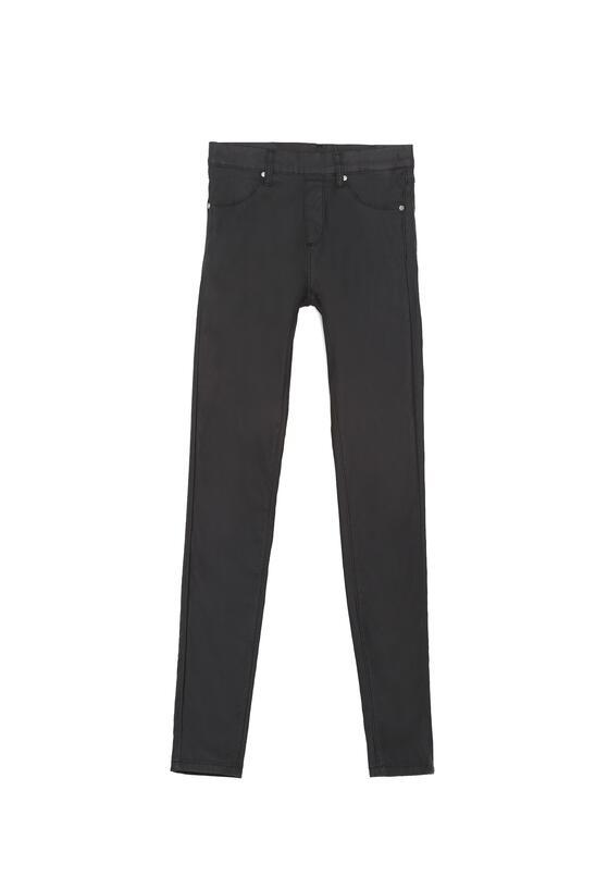 Czarne Spodnie Pearly
