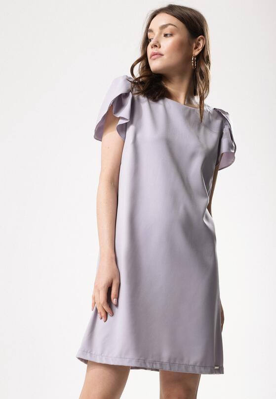 Szara Sukienka Child in You