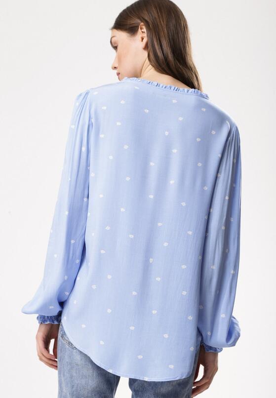 Niebieska Bluzka My Name