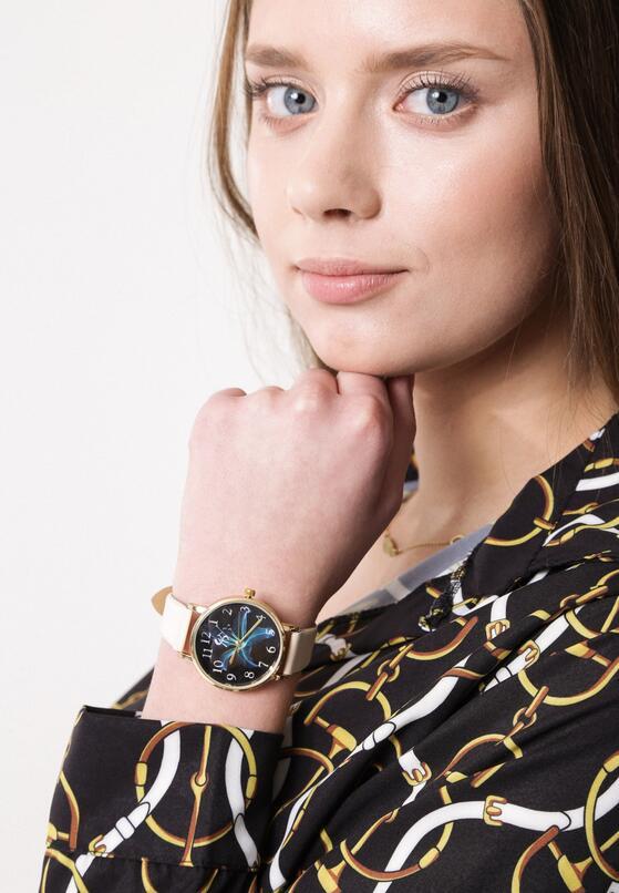 Beżowy Zegarek Let You Love Me