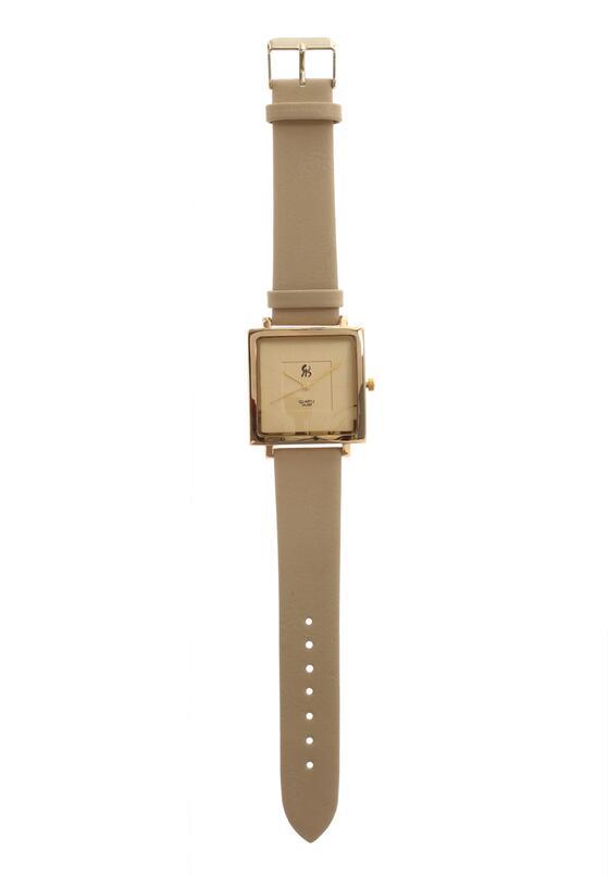 Beżowy Zegarek I Wish, I Wish