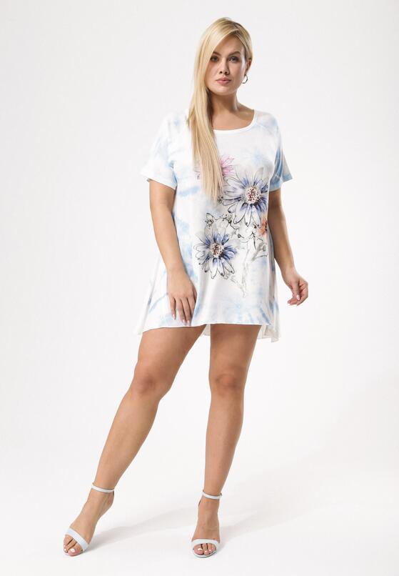 Biało-Niebieska Tunika Unceasingly