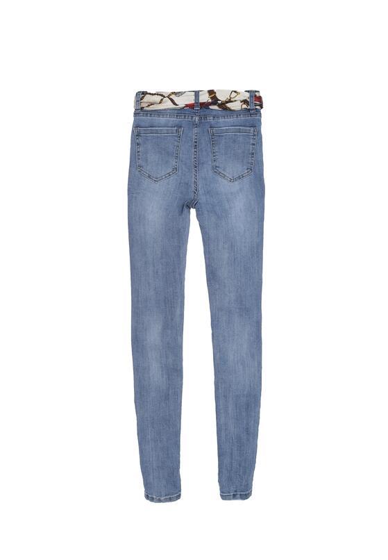 Niebieskie Jeansy Optimum