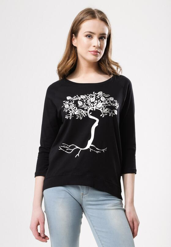 Czarna Bluzka Lemon Tree