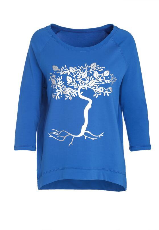 Ciemnoniebieska Bluzka Lemon Tree