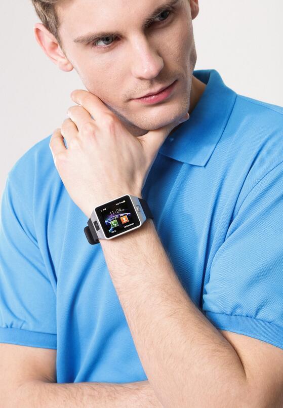 Srebrny Zegarek Ace