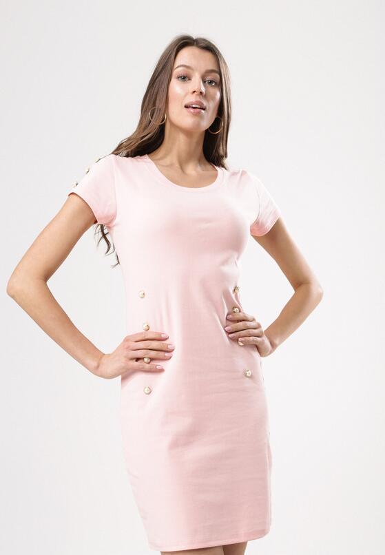 Różowa Sukienka Infinitely