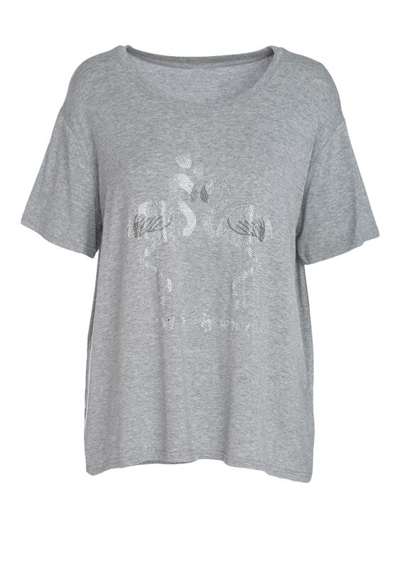 Szary T-shirt Exceedingly