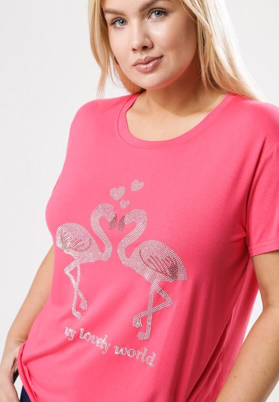 Koralowy T-shirt Exceedingly