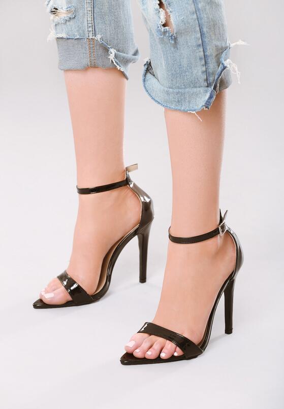 Czarne Sandały Actualize