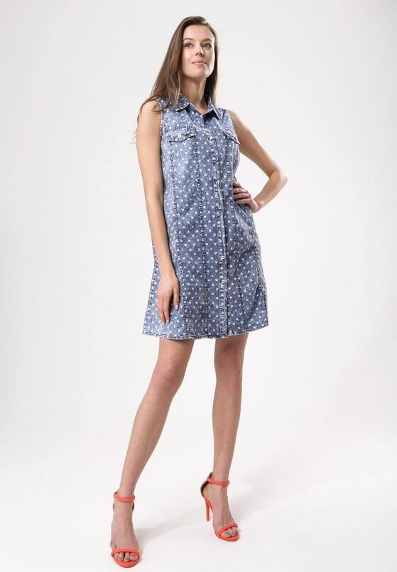 Niebieska Sukienka Come To Pass