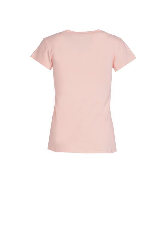 Różowy T-shirt Turnover