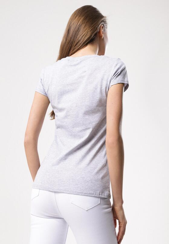 Szary T-shirt Turnover