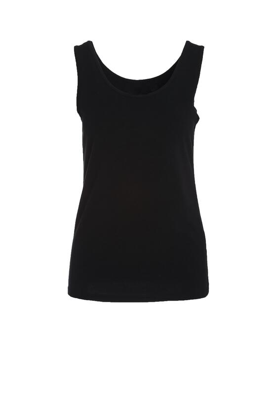 Czarna Koszulka Quotidian