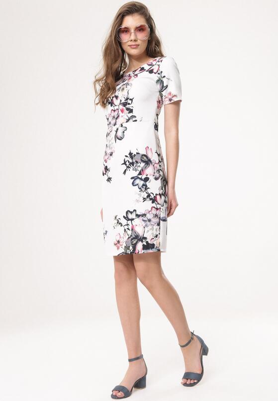 Biała Sukienka With-It