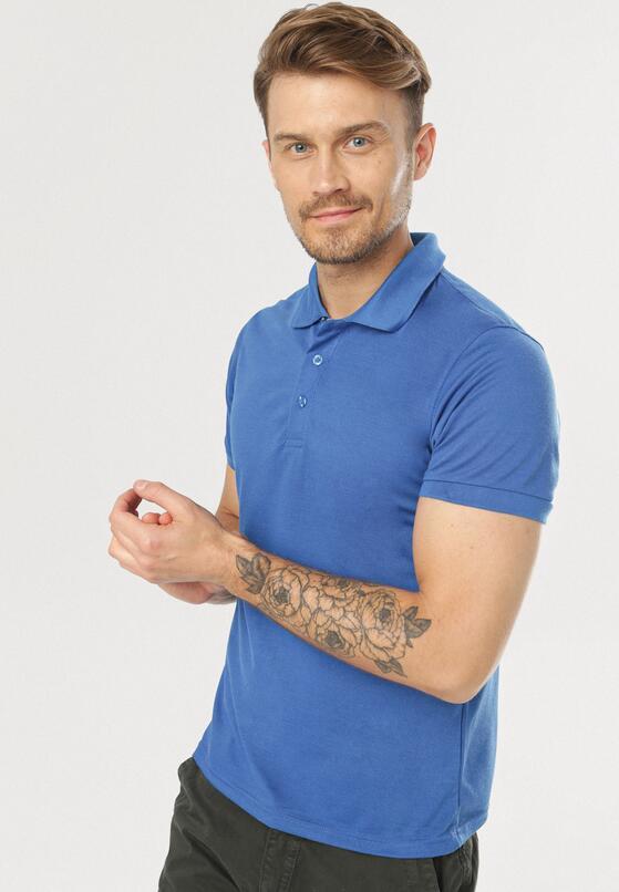 Niebieska Koszulka Gladdening