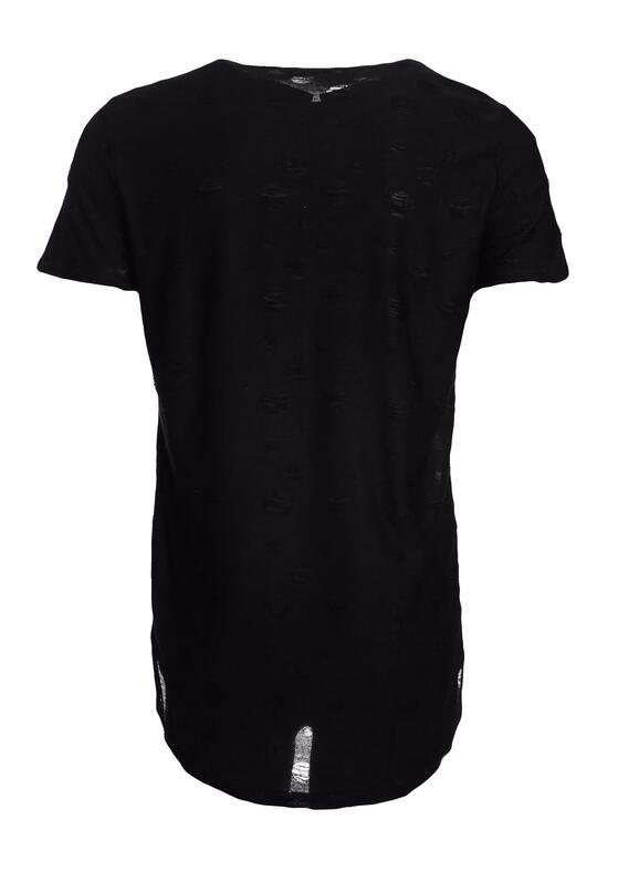Czarna Koszulka Homey
