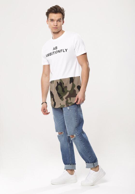 Biała Koszulka Free-And-Easy