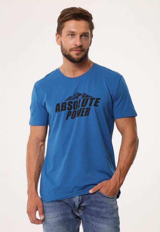 Niebieska Koszulka Optionally