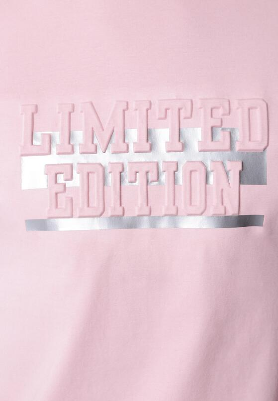 Różowa Koszulka With All My Heart