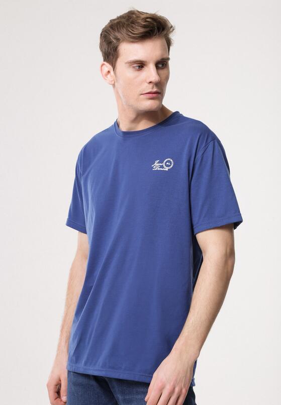 Niebieska Koszulka Down Home