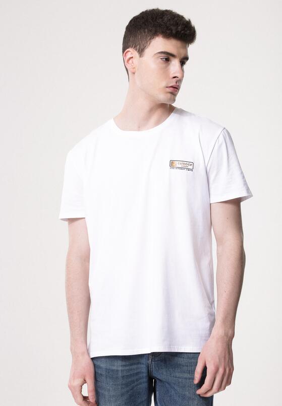 Biała Koszulka On My Own Initiative