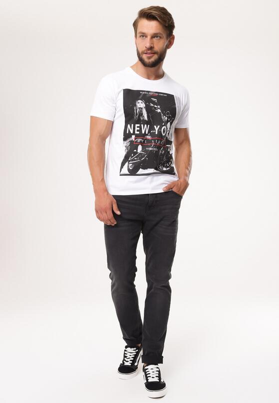 Biała Koszulka Determinedly