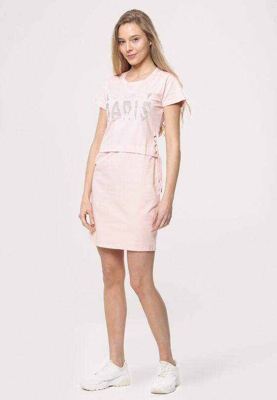 Różowa Sukienka Two Truths