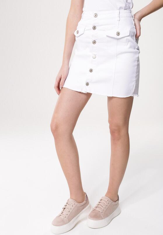 Biała Spódnica Askew
