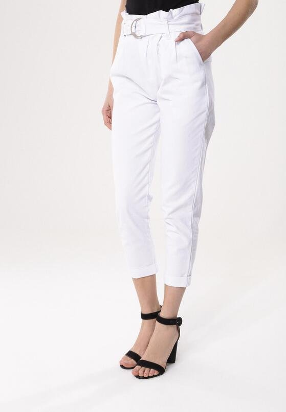Białe Spodnie Glorify