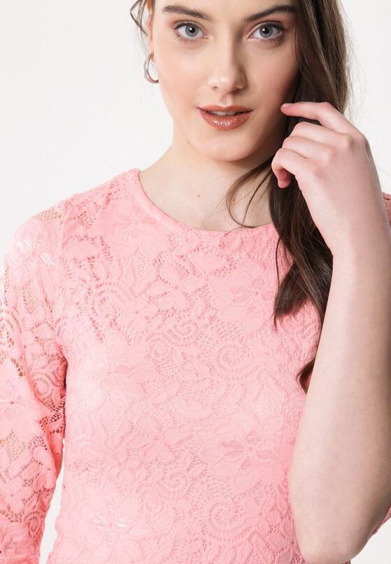 Różowa Sukienka Snoozy