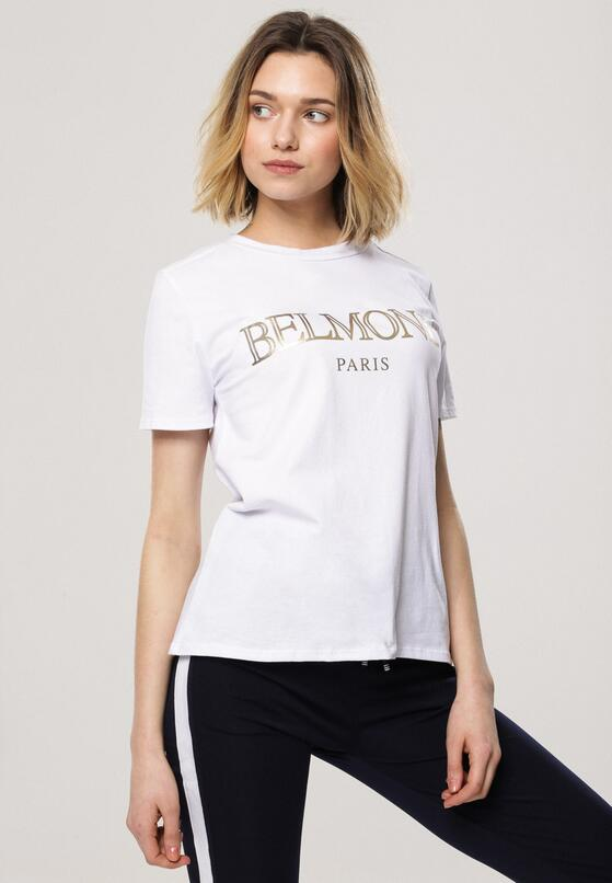 Biały T-shirt School of Life