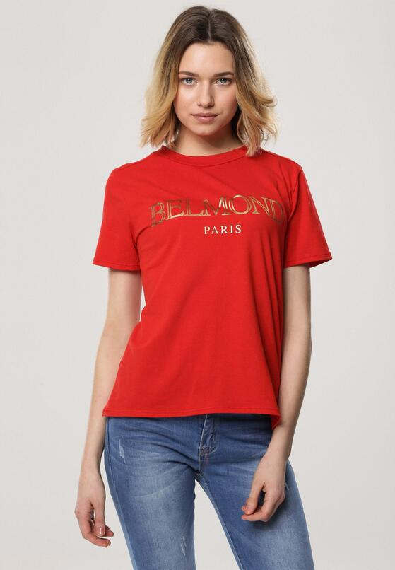 Czerwony T-shirt School of Life
