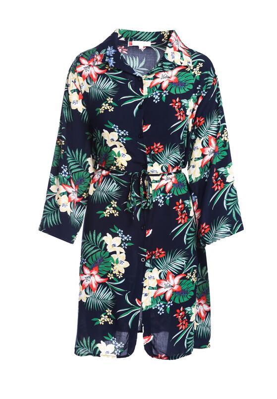 Granatowa Koszula Unriddle