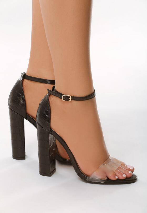 Czarne Sandały Slumber