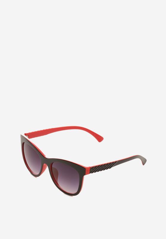 Czarno-Czerwone Okulary Exposes