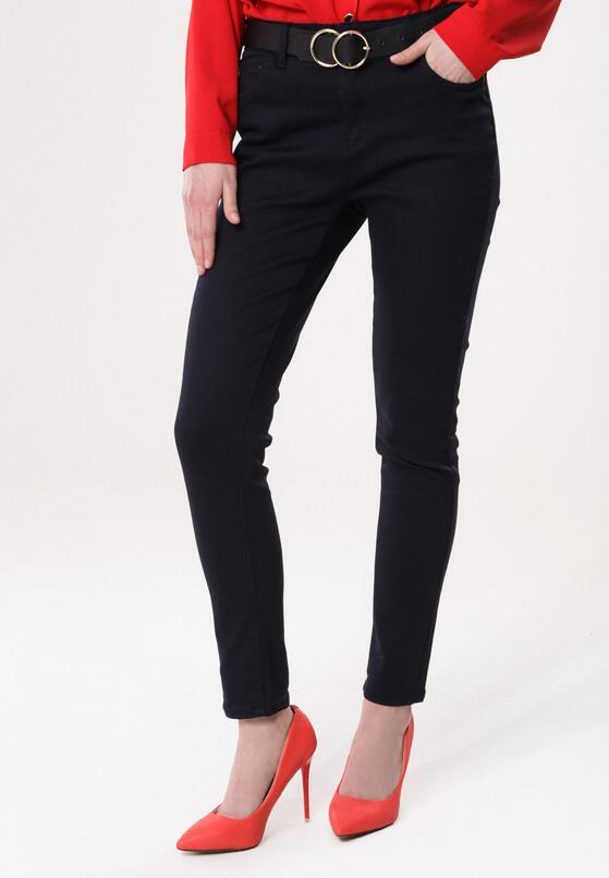 Granatowe Spodnie Prevenancy