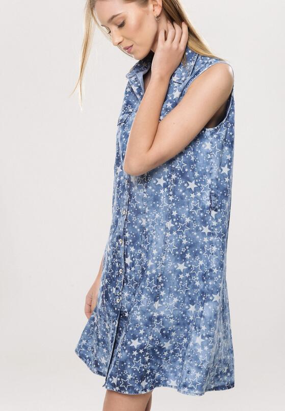 Ciemnoniebieska Sukienka Prettiful