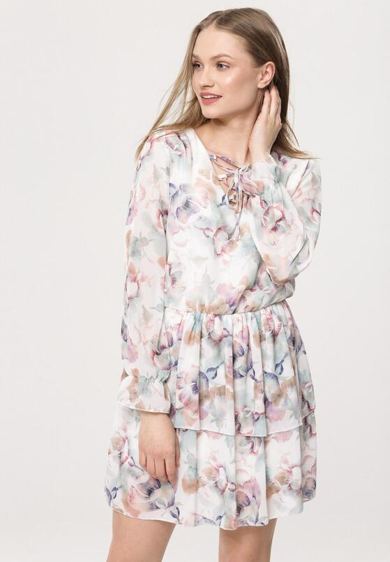 cd5603328171d0 Biała Sukienka Impish w Born2be.pl