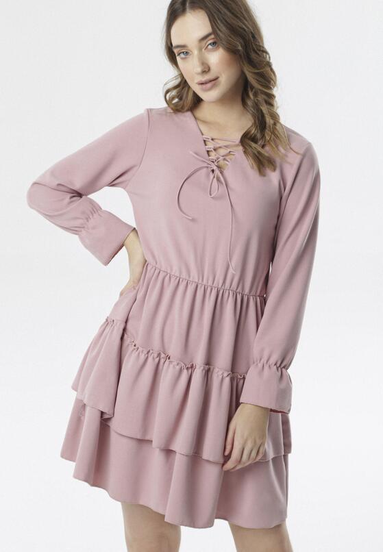 Różowa Sukienka Natured