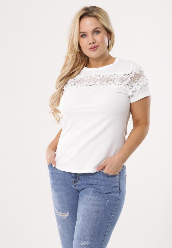 Biała Bluzka Marginal