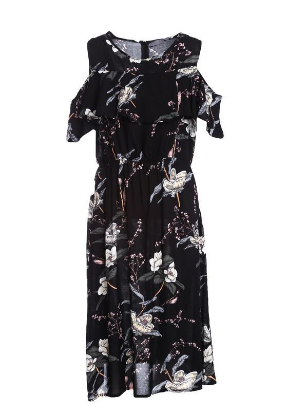 Czarna Sukienka Orchid