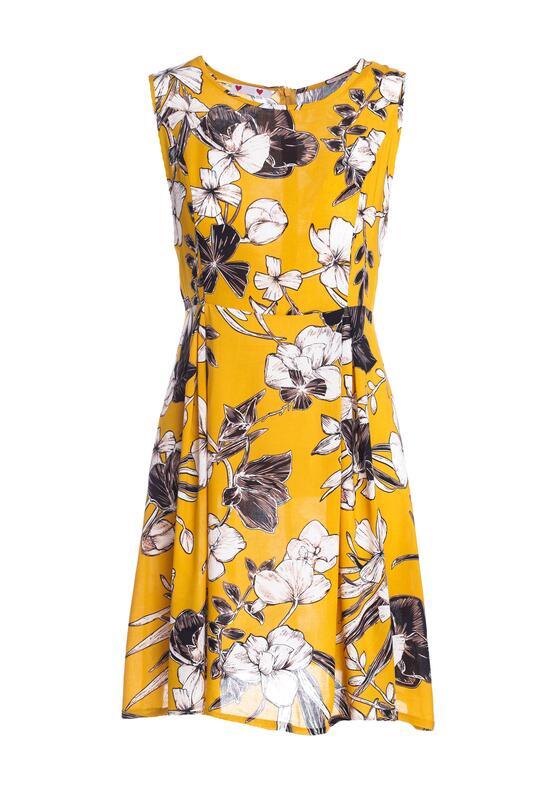 Żółta Sukienka Anemone