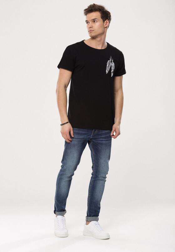 Czarna Koszulka Port