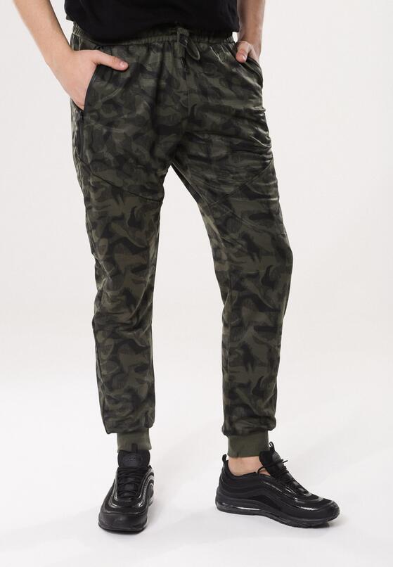 Zielone Spodnie Halt