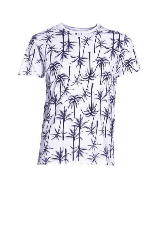 Biało-Granatowa Koszulka Unrecorded